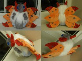 Volcarona Plush by Glacdeas