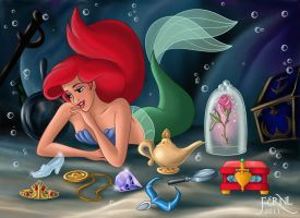 THE TREASURES OF ARIEL by FERNL