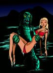 Creature from the Black Lagoon by awakeboarder88