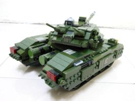 Lego Grizzly Tank (RA2) 7 by SOS101