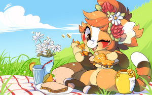 picnic by PillowRabbit