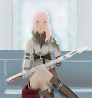 Lightning Final Fantasy XIII by Caroline-RG