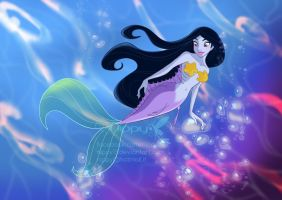 Jasmine Mermaid by Nippy13
