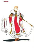 Character Design: Biserica Cleric by Hedgefairy
