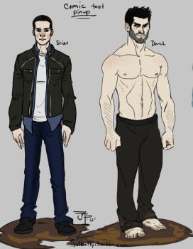 Teen Wolf: Comic Pin Ups by Gone-Batty
