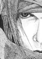Vincent Valentine Pointilism by xtiene