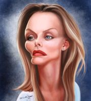 Michelle Pfeiffer by edvanderlinden