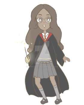 Connie, Hogwarts uniform by Chocolie