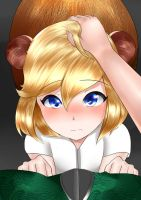 [COMMISSION] Squirrel Girl Head pat by Ringsel