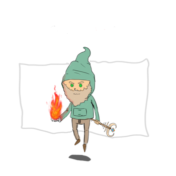 hobo mage by MasterBellick