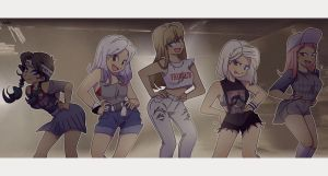 View SHINee Girls by Pulimcartoon