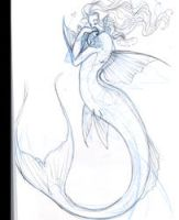 step to step in koi mermaid by driany