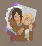 Ymir and Christa by felitomkinson