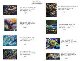 Original Paintings for Sale by Diana-Huang