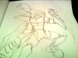 Armored Up Galese WiP by TheRealDarkFox13