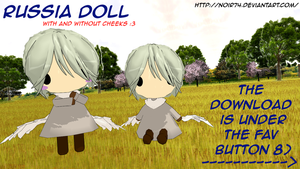 Hetalia MMD_Russia Doll DL by Noir74