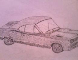 Muscle Car by mchlpckr92