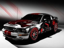 Mustang Paint Job by Lykeios-UK
