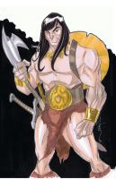 11x17 Conan the Barbarian by Hodges-Art