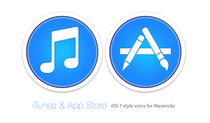 iTunes and App Store Icons by Luke O'Sullivan by osullivanluke
