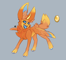 Citrine gemmy adoptable CLOSED by Neonigma