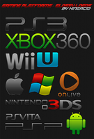 Gaming Platform Logos - Glossy by Crussong