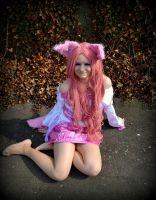 Pink Wolve  cosplay 3 by SylviaHope