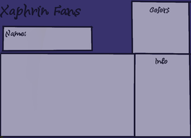 Xaphrin Fans poison Xaphrin  Ref sheet by Inked-Owl