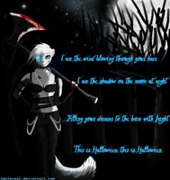 I am the shadow of the moon at night by AntaresIceslayer