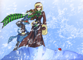 Challenging the Blizzard by taishi-umi