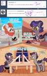 Ask Night Stitch: The Family by LunarShineStore