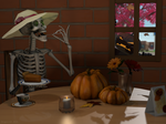 The Pumpkin Pie is to Die For by dragon-64