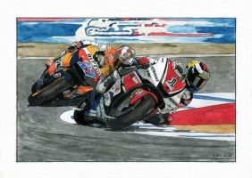 Jorge Lorenzo by Leotrek