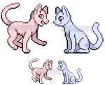 Pixel Icon YCH Auction (CLOSED) by Dogquest