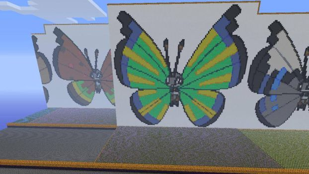 666.14 Vivillon Savanna Pattern by Electryonemoongoddes