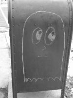 Ghost in the....mailbox by MidnightLaughter333