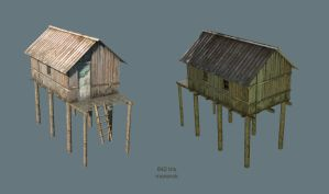 Swamp house by monorok