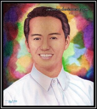 Pulitikong Makulay (Colorful Politician) (in biro) by zwoman