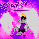 March by Nala-Crescent