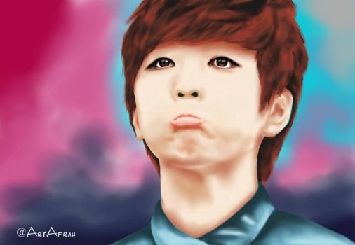 sandeul from B1A4 by FR7RBAIN