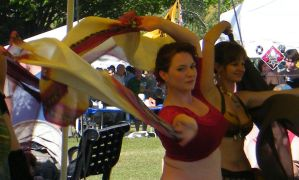 Belly Dancer at the Medieval Fair 03 by wolf74145