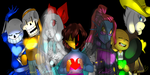 .:Darkness and Magic/Undertale AU:. by RoDennFuck