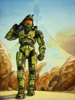 Master Chief by TheMaestroNoob