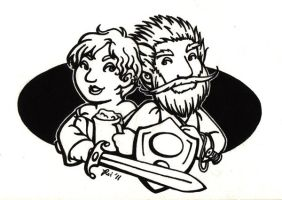 Lines - Protector Gnomes by rachelillustrates