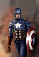 Cpt. Steve Rogers by leseraphin
