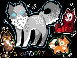 Moar 1-5 Points Adopts [CLOSED] by oOMintAdoptablesOo