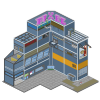 pixel hotel by georgeblunt