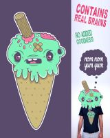 iScream tee by neilakoga