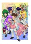 Saint Seiya Party by witch-hecate