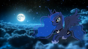 WALLPAPER: The True Princess of the Night by Dash-of-L0YALTY